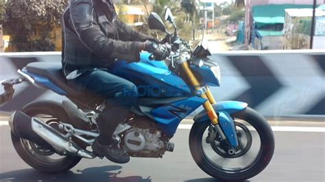 Modification Bmw G 310 R by Spied Tvs Bmw G 310 R Spotted Doing Rounds On Krishnagiri