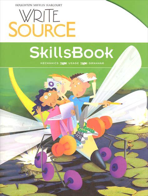 Write Source (2012 Edition) Grade 4 Skillsbook Student (026278) Details  Rainbow Resource