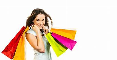 Shopping Bag Transparent Bags Shoppers Holding Pretty
