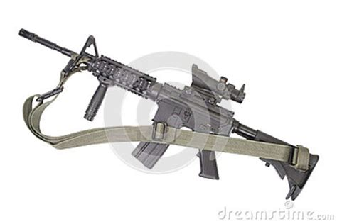 M4 Carbine Vector Illustration