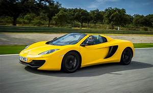 2013 McLaren MP4-12C Spider First Drive Review ...