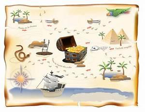 mapa del tesoro Taller Rosali