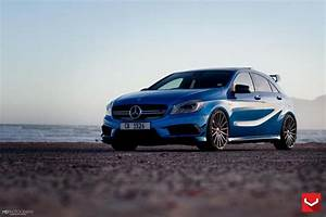 Mercedes A45 Amg Tuning : 20 inch vossen vfs 2 rims on the mercedes a45 amg ~ Jslefanu.com Haus und Dekorationen