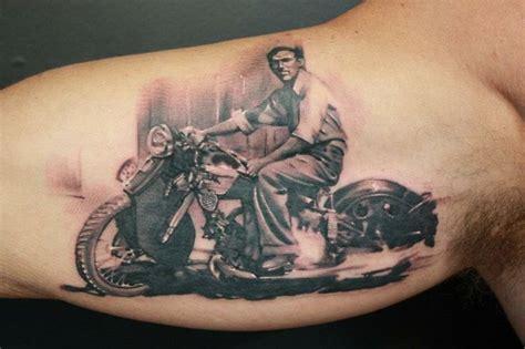 Motorcyle Tattoo Design Ideas