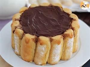 Recette Charlotte Poire Chocolat : charlotte au chocolat recette ptitchef ~ Melissatoandfro.com Idées de Décoration