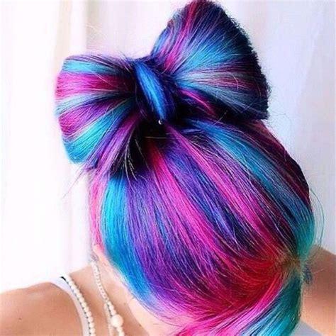 pretty cool colored hair ideas community color