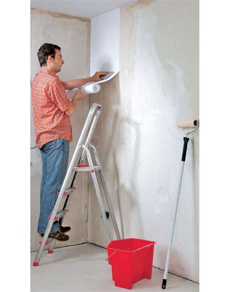 Eine Wand Tapezieren by Wand Tapezieren Selbst De