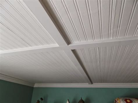 Beaded Vinyl Soffit Porch Ceiling Panels