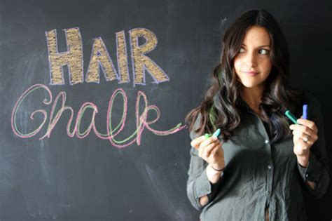 Green Chalk Blue Brown Pastel Tutorial Multicolor Hair