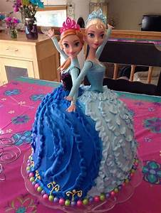 25+ best Anna cake ideas on Pinterest | Anna frozen cake ...