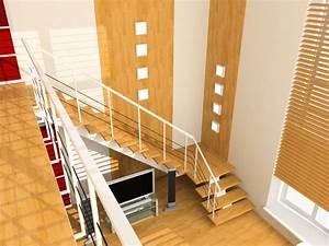 Wandgestaltung Treppenhaus Einfamilienhaus : treppenhaus wand gestalten die sch nsten ideen tipps ~ Markanthonyermac.com Haus und Dekorationen