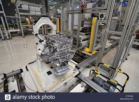 Modern Car Factory by Conveyor Engine Stock Photos Conveyor Engine Stock