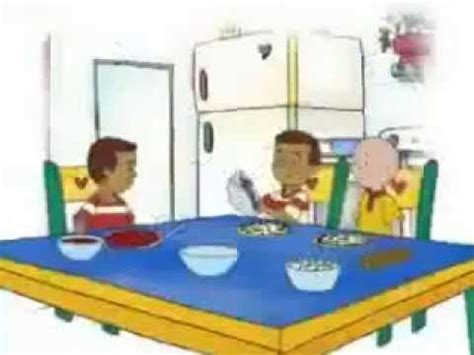 caillou in the bathtub caillou the chef