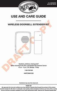 Heathco Wltx204 Wireless Doorbell Extender Kit User Manual