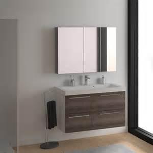 Meuble Remix Leroy Merlin Pdf meuble de salle de bains remix blanc 106x48 5 cm 4