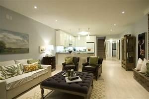 Wohnzimmer Mit Bar : modernes wohnzimmer einrichten wohn und k chenraum kombinieren ~ Michelbontemps.com Haus und Dekorationen