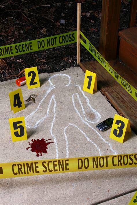 crime scene decoration kit  trendyhalloweencom