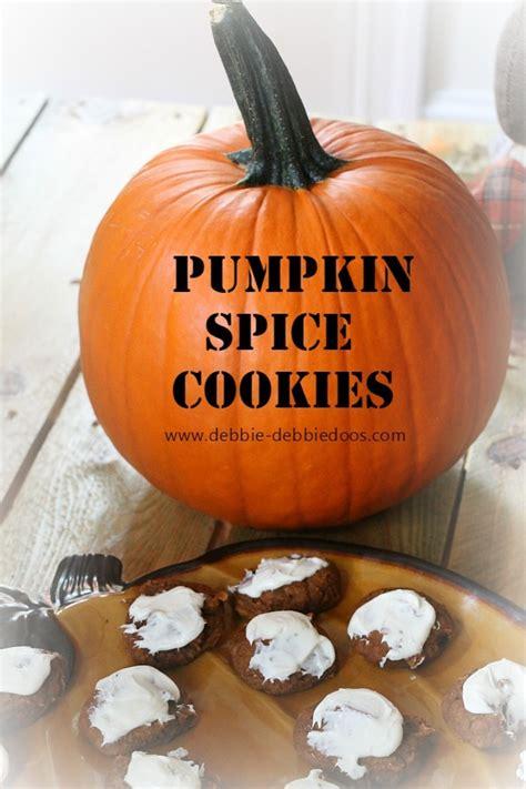 ingredients pumpkin spice cookies debbiedoos