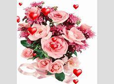 Flores y Corazones Gifs Animados New Multimedia