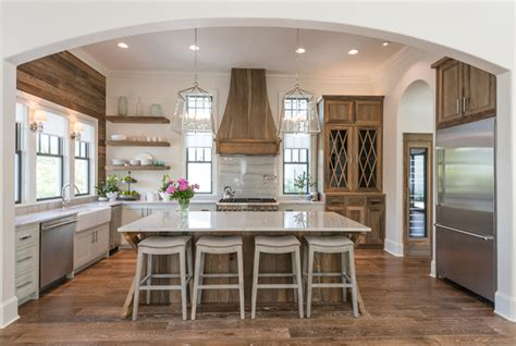 modern farmhouse kitchen inspiration jeanne cana design