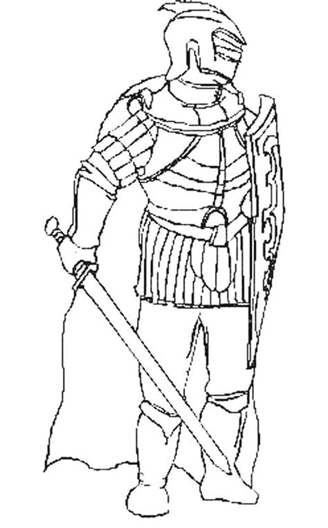 knight coloring pages coloringpagesabccom