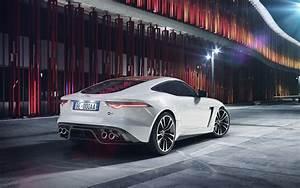 Wallpaper Jaguar F-TYPE SVR Coupe, 2018, HD, Automotive
