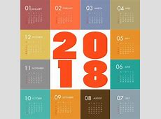 2016 2017 2018 calendar free vector download 1,709 Free