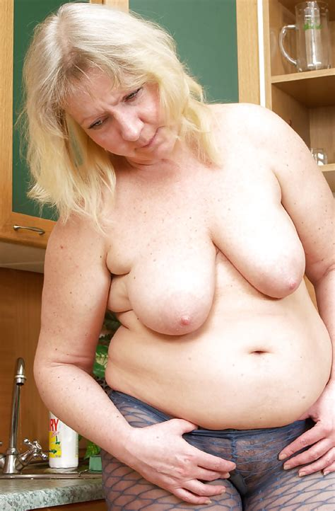 Big Tits Mature Outside