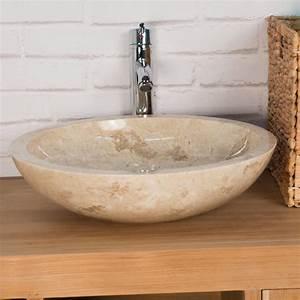 vasque poser salle de bain cheap meuble salle de bain With salle de bain design avec vasque à poser ronde
