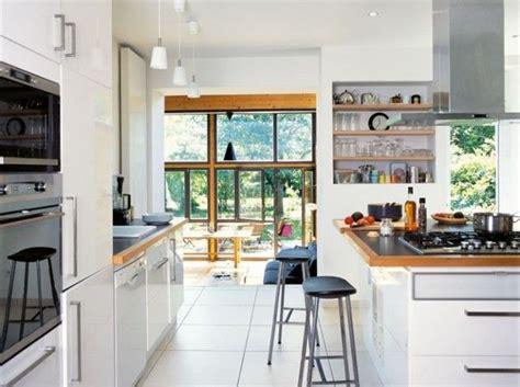 cuisine blanche plan de travail bois ikea cuisine blanche plan travail granit noir et bordure
