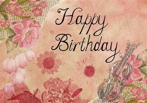 illustration happy birthday card stock