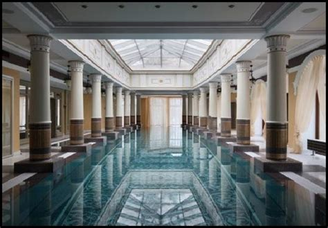 Awesome Indoor Pool Design With Reflected Ceiling. Part Of