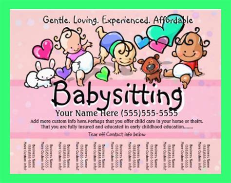 Daycare Flyers Templates Free by 30 Daycare Flyer Templates Sle Templates