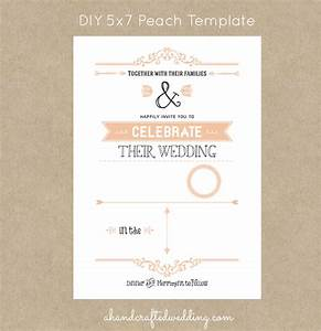 Rustic wedding invitation templates moritz flowers for 5 by 7 wedding invitation template