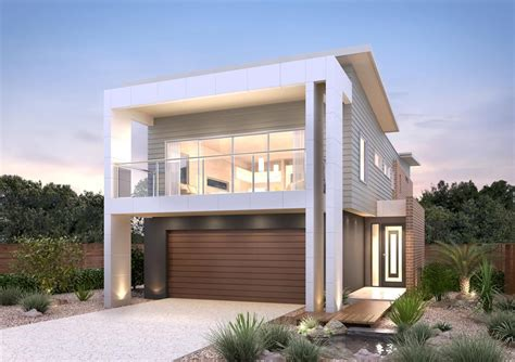 Unique Narrow Block Home Designs 4990 In