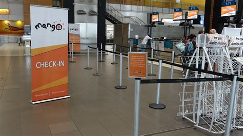 Prices refer to lowest available return. Review of Mango flight from Johannesburg to Cape Town in ...