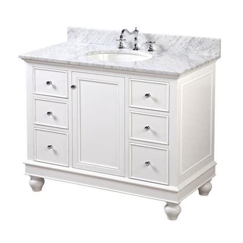 Bella 42 inch Vanity (Carrara/White) ? KitchenBathCollection