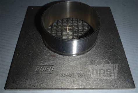 zurn 33451 001 cast iron 8 quot x 8 quot square cover grid floor
