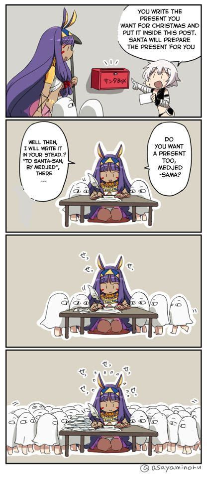 pin  mior ahmad  fgo comics fate anime series cute