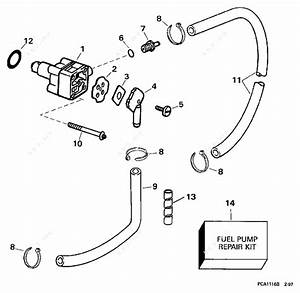 Johnson 1997 9 90 - J10freua  Fuel Pump