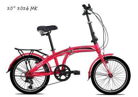 Sepeda Lipat 20 Exotic 2026mk