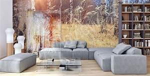 Fototapete Für Wohnzimmer : fototapeten birke gr e der wand ~ Sanjose-hotels-ca.com Haus und Dekorationen