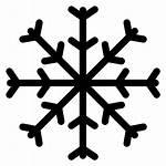Snow Icon Ice Outline Winter Shape Line