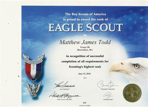 Scout Certificate Templates by Cub Scout Certificate Templates Images Avery Business