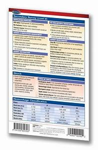 Airway Size Chart Er Trauma Pocket Guide Ii Quick Reference Resource