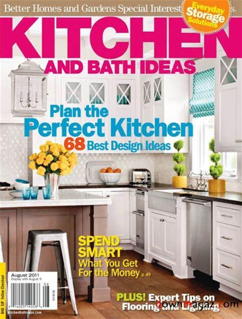 kitchen and bath ideas august 2011 pdf