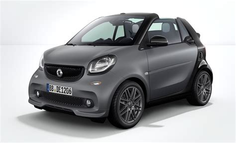 Smart Fortwo 2017 by Brabus Sport Package For 2017 Smart Fortwo Revealed