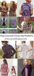 Free Crochet Circle Vest Patterns You U0026 39 Ll Have Fun Crocheting