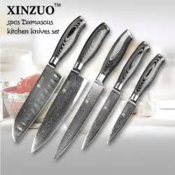 cheap kitchen knives buy wholesale damascus steel kitchen knife set from china damascus steel kitchen knife
