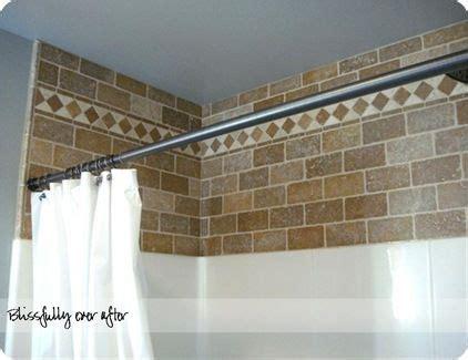 tile above tub surround decorative tile above plain tile or vinyl shower surround